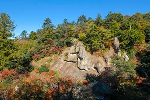 那谷寺奇岩遊仙境の写真素材 [FYI02740662]