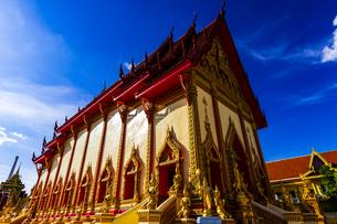 Wat Si Thep Pradittharam, Nakhon Phanom, Thailandの写真素材 [FYI02740739]