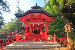 生島足島神社の御神橋の写真素材 [FYI02740892]