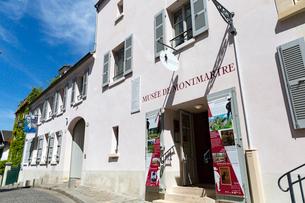 モンマルトル博物館(MUSEE DE MONTMARTRE)の写真素材 [FYI02740953]