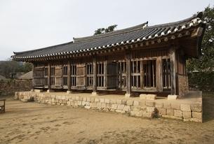 Oksaji or Old Prison, Naganeupseong Fortressの写真素材 [FYI02741148]