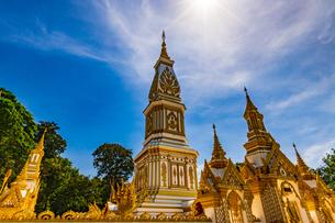 Wat Maruk Khanakhon, Nakhon Panom, Thailandの写真素材 [FYI02741318]