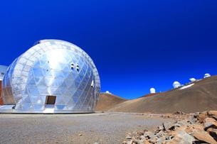 ハワイ島 マウナケア山頂天文台群の写真素材 [FYI02741574]
