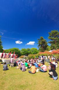 御屋敷つつじ祭の写真素材 [FYI02742630]