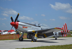 North American F-51D Mustang.の写真素材 [FYI02742998]