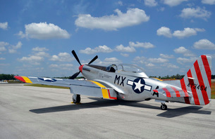 North American F-51D Mustang.の写真素材 [FYI02743100]