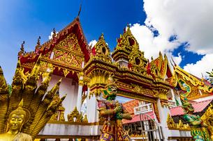 Wat That Mahachai, Nakhon Phanom, Thailandの写真素材 [FYI02744883]