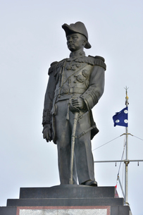 ウドムサーク海軍提督銅像の写真素材 [FYI02750507]