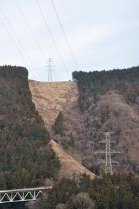 丘の上の鉄塔の写真素材 [FYI02810020]