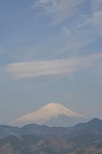 菜の花台より富士山の写真素材 [FYI02810034]