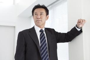 ほほえむビジネスマンの写真素材 [FYI02812333]