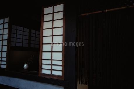障子 縄暖簾の写真素材 [FYI02815275]