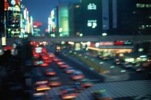 都会のネオンの写真素材 [FYI02816286]