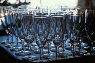 整然と並んだグラスの写真素材 [FYI02816363]