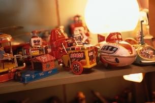 ディスプレイされたおもちゃの写真素材 [FYI02816421]