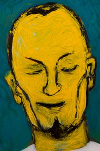 男性の顔のイラストのイラスト素材 [FYI02816494]