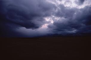 曇った空の写真素材 [FYI02816511]