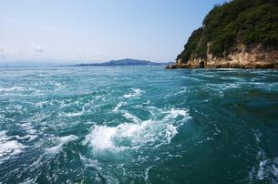 来島海峡の八幡渦の写真素材 [FYI02816781]