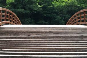 奈良井木曽の大橋の写真素材 [FYI02816856]
