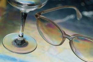 ポラグラフィー(眼鏡)の写真素材 [FYI02817213]