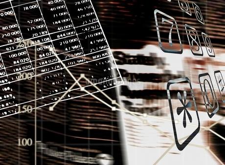 ビジネス、フォトコラージュの写真素材 [FYI02817510]