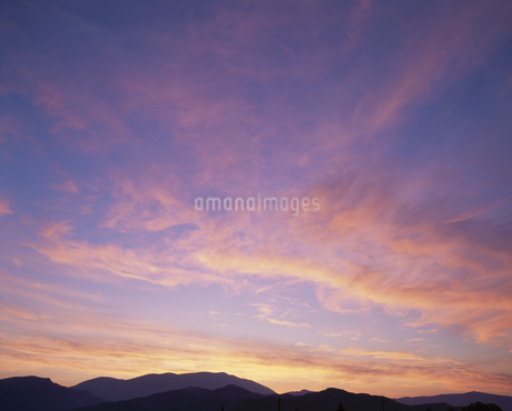 雲、空の写真素材 [FYI02817781]