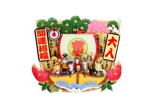 午の七福神と宝船の写真素材 [FYI02817918]
