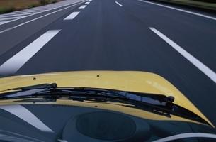 道 車の写真素材 [FYI02818083]