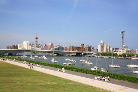 信濃川の写真素材 [FYI02819585]