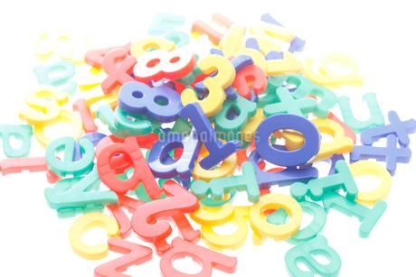おもちゃの文字の写真素材 [FYI02819773]