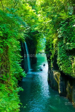 高千穂峡 真名井の滝の写真素材 [FYI02819917]