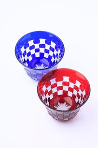 江戸切り子ガラスの写真素材 [FYI02819965]