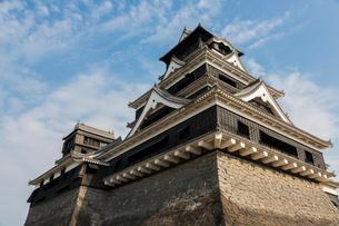 熊本城天守閣の写真素材 [FYI02820894]