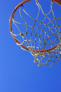 バスケットゴールの写真素材 [FYI02821111]