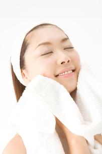 洗顔の写真素材 [FYI02821133]