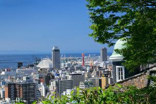 港みはらし台からの神戸市街の写真素材 [FYI02821590]