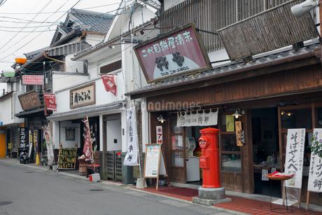 昭和の町の町並みの写真素材 [FYI02821643]