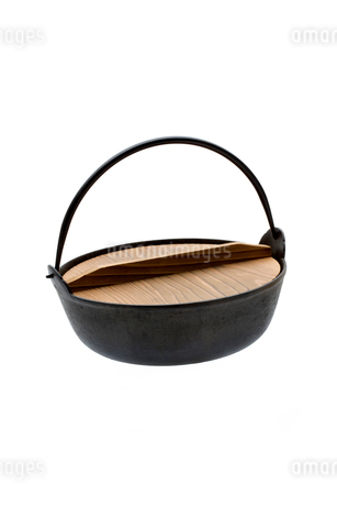 鉄鍋の写真素材 [FYI02821794]