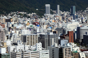 ポートタワーより望む神戸市街の写真素材 [FYI02821842]