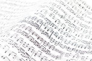 楽譜の写真素材 [FYI02821964]