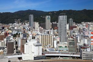 ポートタワーより望む神戸市街の写真素材 [FYI02822031]