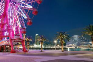 神戸港の夜景の写真素材 [FYI02822043]