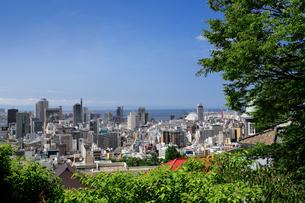 港みはらし台からの神戸市街の写真素材 [FYI02822087]
