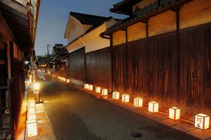 富田林寺内町燈路の写真素材 [FYI02822147]