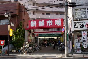 新鮮市場町屋店の写真素材 [FYI02822603]
