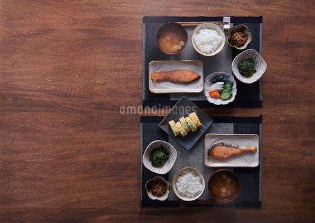 和の朝食の写真素材 [FYI02822663]