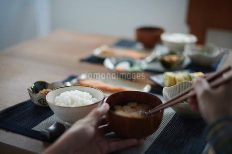 和の朝食の写真素材 [FYI02822676]