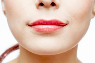 唇の写真素材 [FYI02822726]