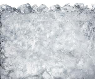 氷の入った炭酸水の写真素材 [FYI02822766]