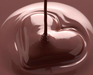 ハートのチョコレートの写真素材 [FYI02822771]